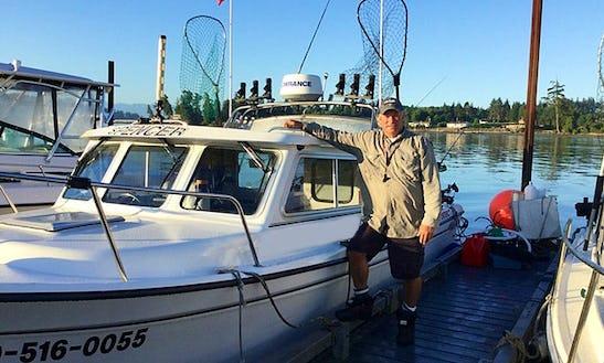 24' Seawest Fishing Charter In Sooke