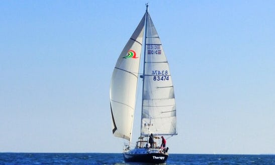 43' Sailboat Rental In Chesapeake Bay, Annapolis Md