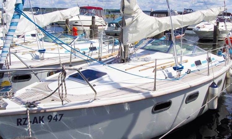 23' German Sailing Charter in Klink