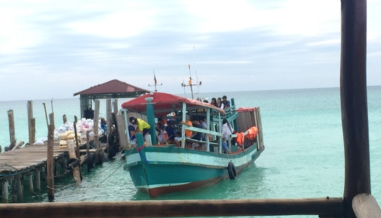 Houseboat Fishing Charter In Krong Preah Sihanouk