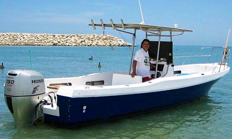 26' Fishing Charter in San José del Cabo, Mexico