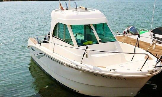 20' Fishing Boat In Deltebre