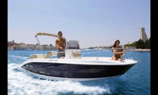 Motor Yacht In Bordighera