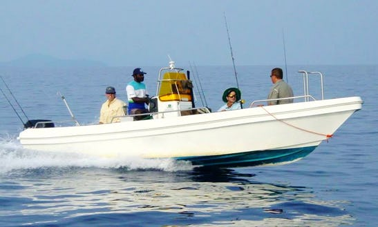 'angler Rod' Boat Fishing Charter In Papua New Guinea