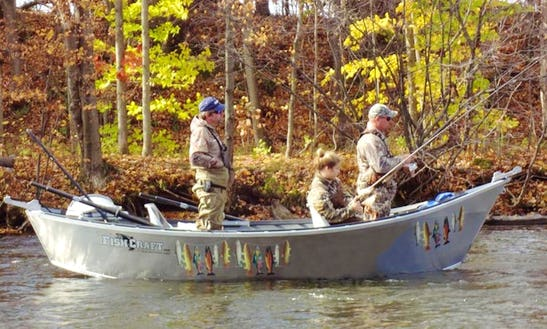 Drift Boat Fishing Guide Trips On The Salmon River