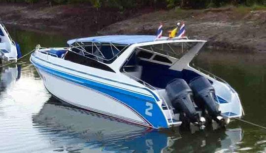 Charter A Speedboat In Chang Wat, Thailand