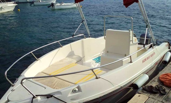 8 Person Center Console For Rent In Kerkira, Greece For Island Experience