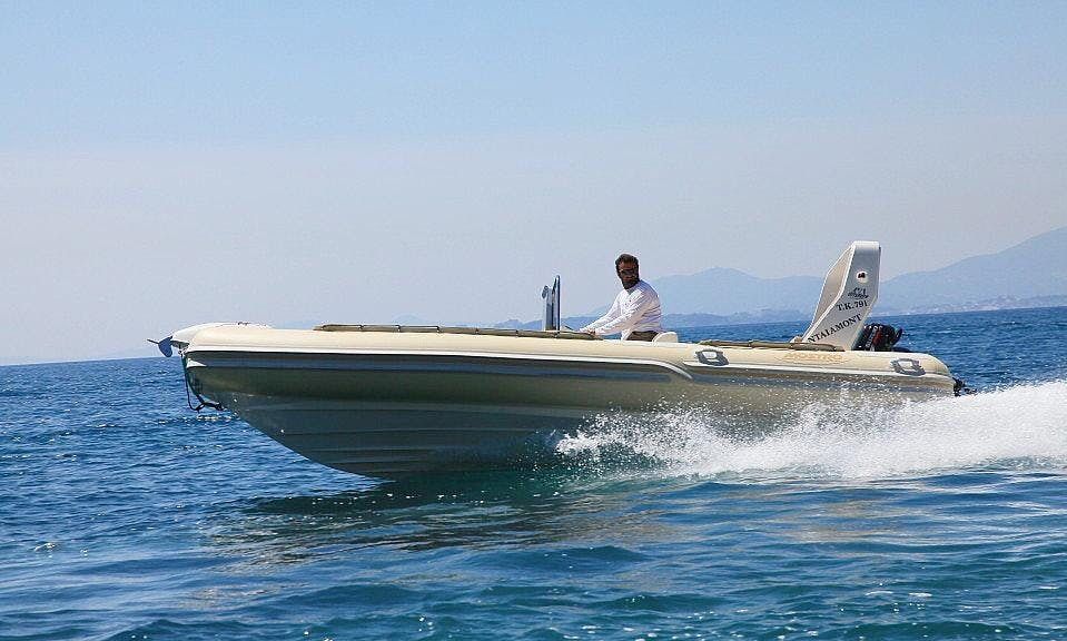 Charter a Rigid Inflatable Boat in Kerkira, Greece