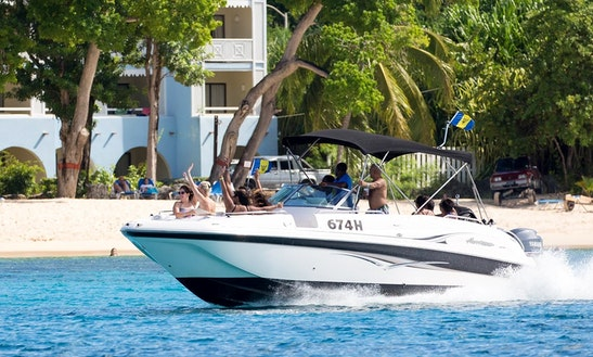 Private Boat Experience On A Bowrider In Saint Peter, Barbados