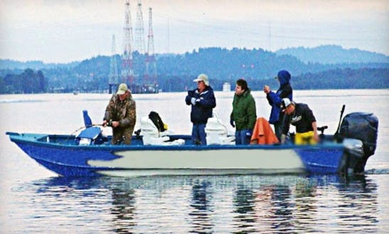 Guided Fishing Trips In Oregon