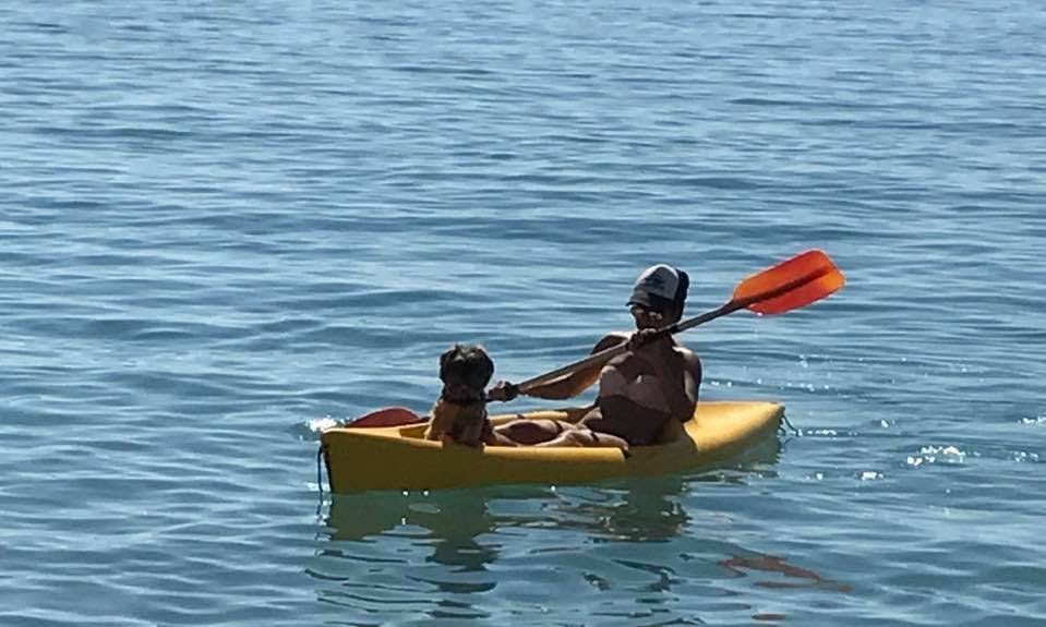 Single Kayak Rental for Exciting Day at Pissouri Beach in Cyprus