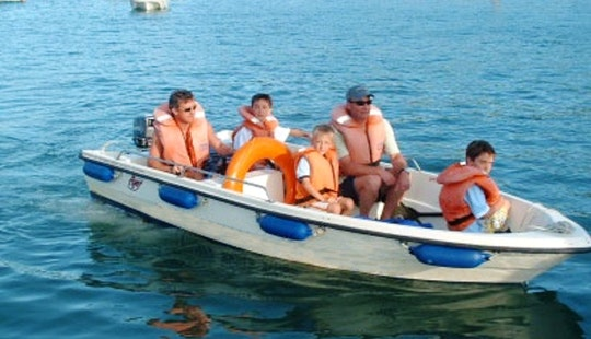 16' Self Drive Boat Hire In Salcombe