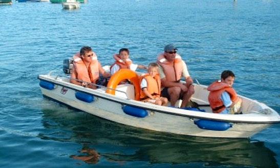 16' Boat Hire In Salcombe