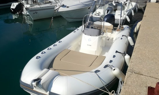 Charter Semi-rigid Capelli Tempest 650 Boat In Nice