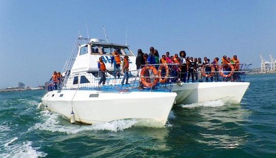 Charter Da Boss Power Catamaran In Durban, South Africa
