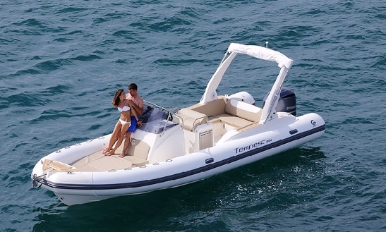 Hire This Capelli Te 800 Rib Boat + Suzuki 350 Engine In Zadar, Croatia