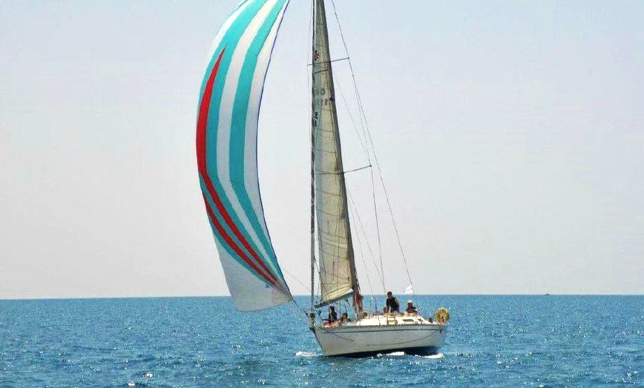 40ft Sailing Yacht Lessons and Rental