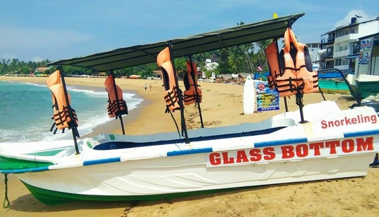 Enjoy Glass Bottom Boat Tours In Unawatuna, Sri Lanka