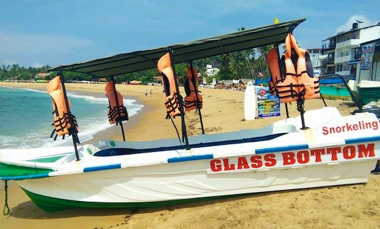 Enjoy Glass Bottom Boat Tours In Unawatuna, Sri Lanka