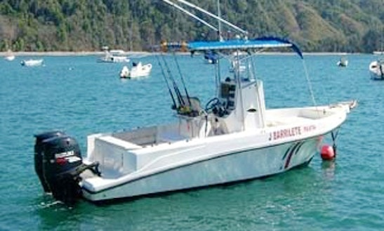 Enjoy Fishing In Jaco, Costa Rica On 28' Center Console