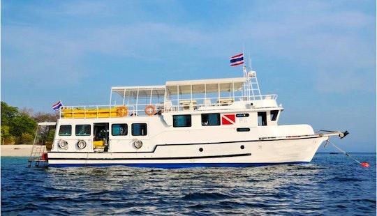 M/v Seafarer Livaboard Diving Boat In Phuket, Thailand