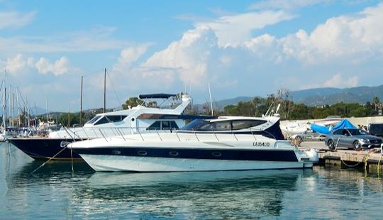 Charter 47' Alena - Chloe Motor Yacht In Liscia Di Vacca, Italy