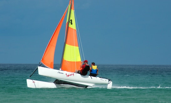 Beach Catamaran Rental In Tambon Pa Klok