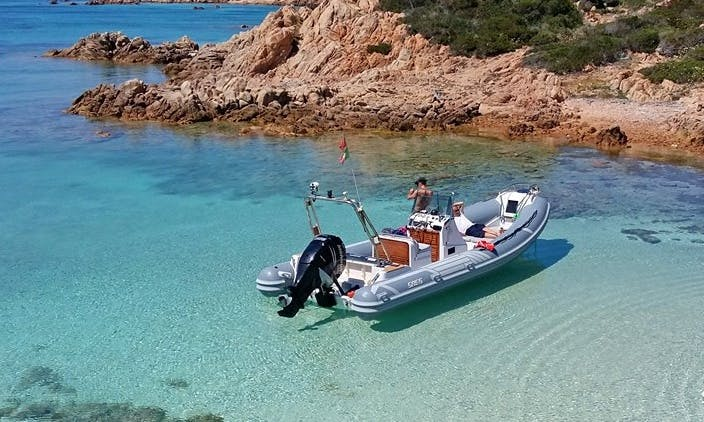 26' RIB Boat Rental In Palau, Italy