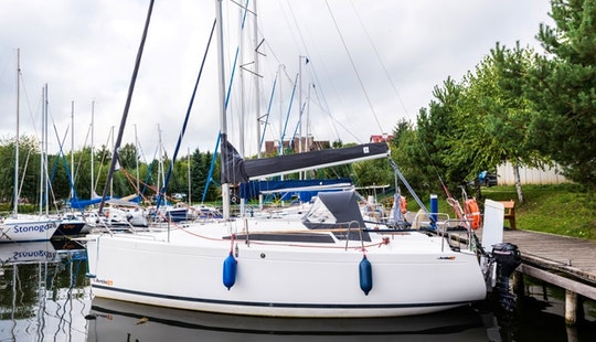 Charter Antila 27 Cruising Monohull In Giżycko, Poland