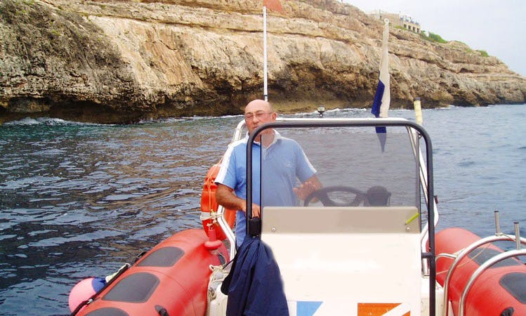 Diving Boat Rental in El Dorado, Mallorca