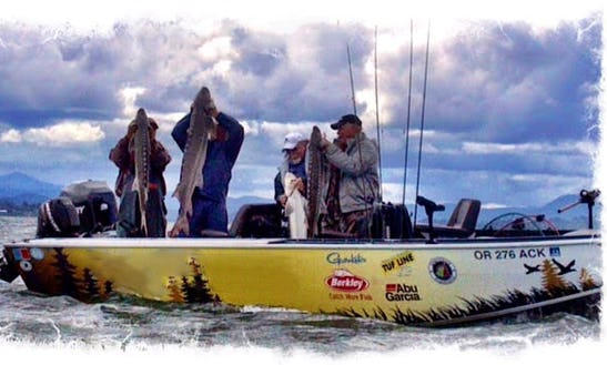 Guided Fishing Trips In Warrenton, Oregon