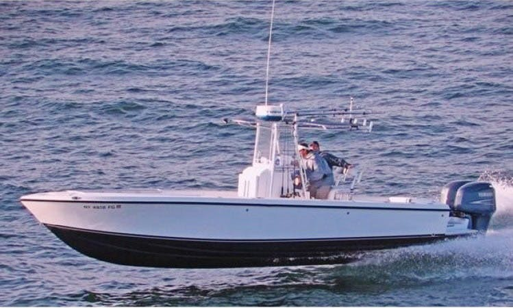 Fishing Charters on 28' Whitewater in the  Key West, Florida