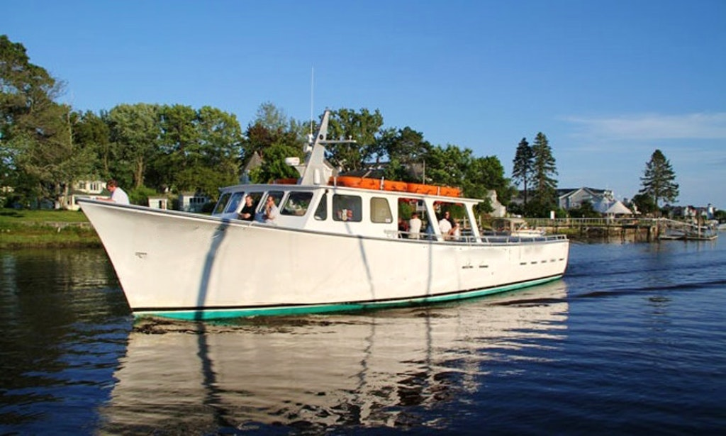 65 39 scenic lobster tour boat in kennebunk getmyboat for Fishing boat rentals near me