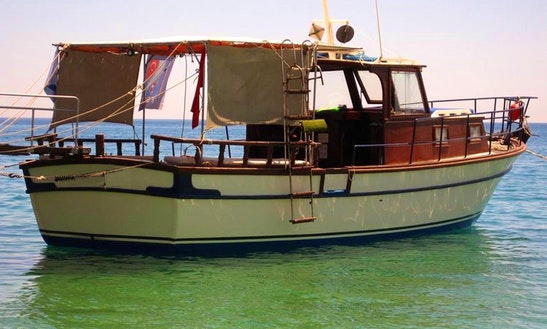 Barakuda-2 Custom Diving Boat  In Tekirova
