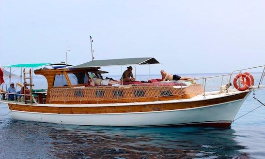 Charter Chillout Motor Yacht In Antalya, Turkey