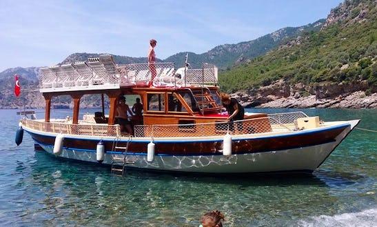 Cagatayefeboat Charter A Motor Yacht Rental In Turunc Marmaris Muğla, Turkey