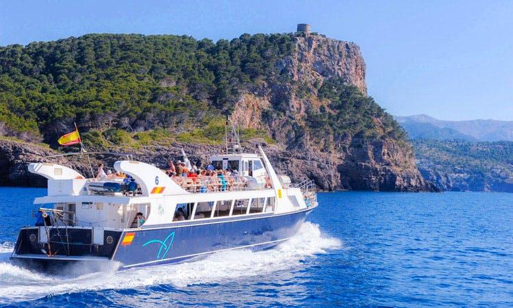 Cala Tuent Boat Charter in Port de Sóller