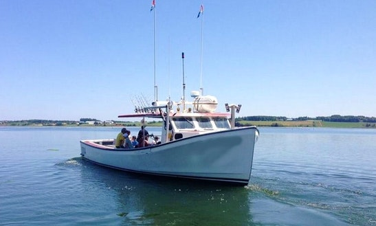 Sport Fishing Charter In The Gulf Of The St. Lawrence