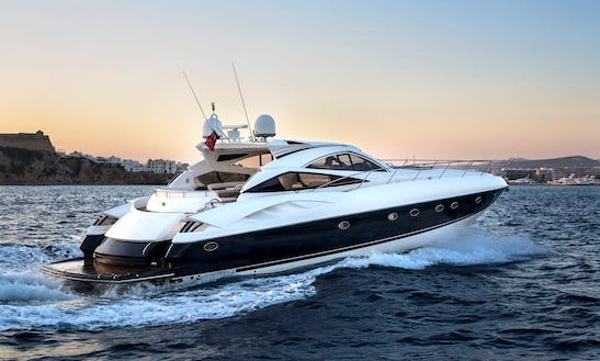 Charter A 12 Person Sunseeker Predator Power Mega Yacht In Ibiza, Spain
