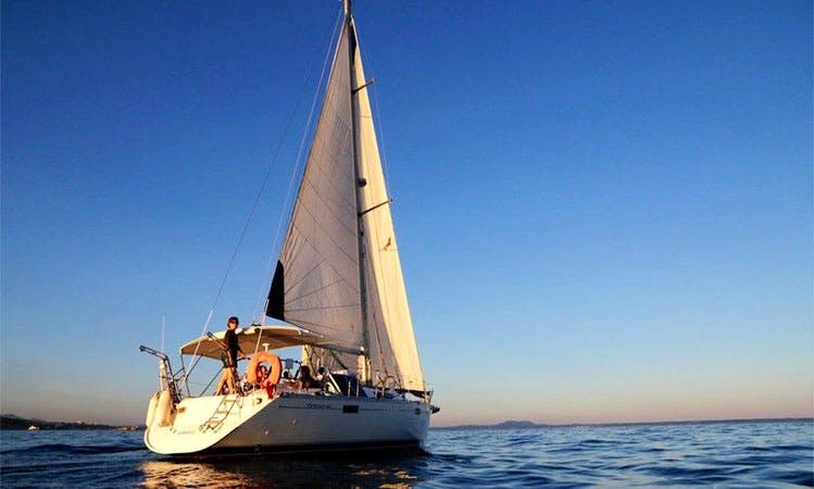 "Charter 39ft ""Bella Barca"" Beneteau Oceanis in Santa Ponça"