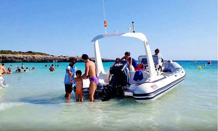 Crewed Charter in Cala Galdana