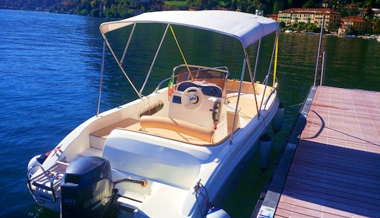 As 570 Open - 7 Seats Deck Boat Rental In Bellagio