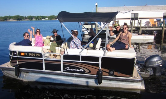 Rent A Sweetwater Pontoon For 8 Person In Deland, Florida