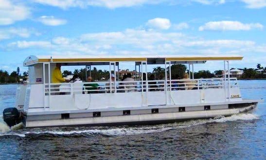 Pontoon Boat Rental In Port St. Lucie, Florida