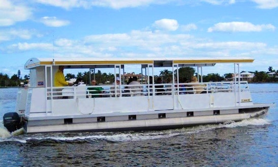Pontoon Boat Rental In Port St. Lucie, Florida