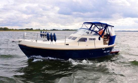 Courier 970 Blue Motor Boat Charter In Węgorzewo