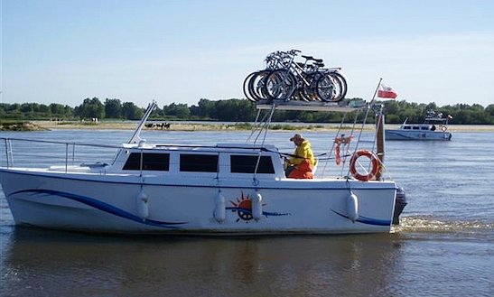 Weekend 820 Houseboat Rental In Rybina - Poland
