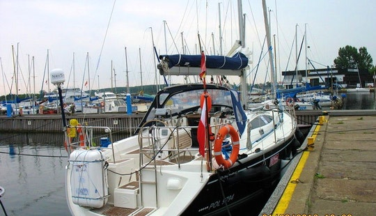 Charter The 40ft Delphia Sailboat In Gdynia, Poland