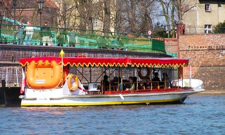 """Gucio"" Canal Boat Trips in Wrocław"