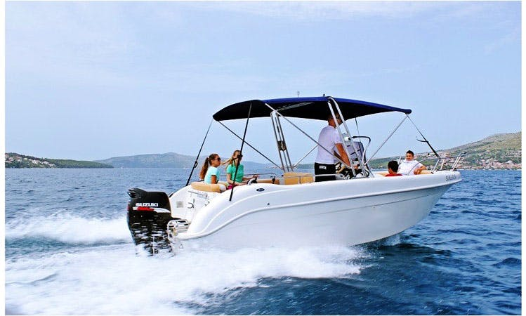 Saver 650 Open Center Console for Rent in Trogir, Croatia